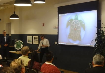 Two Minute Turtle Timer at Boston New Technology #89