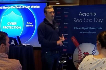 Patrick Hurley, VP & GM Americas, Acronis